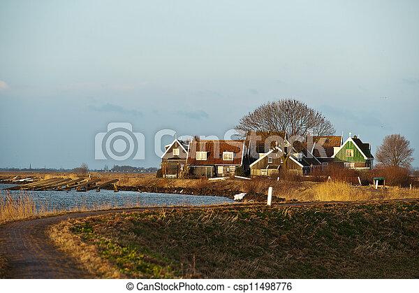 Dutch Landscape - csp11498776