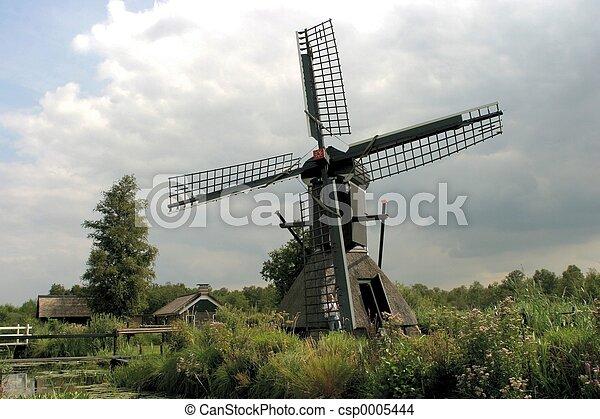 Dutch landscape - csp0005444