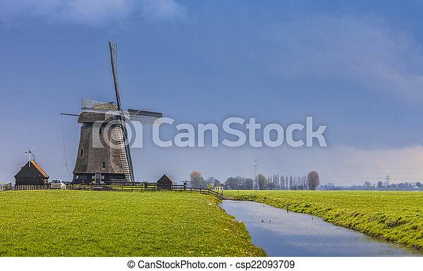 Dutch Landscape - csp22093709