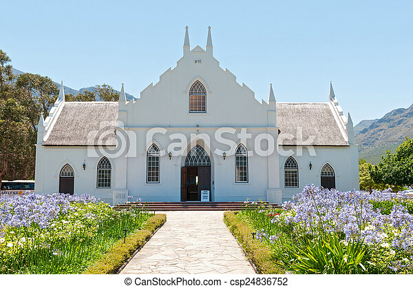 Dutch Reformed Church, Franchoek - csp24836752