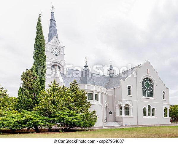 Dutch Reformed Church, Heidelberg, South Africa - csp27954687