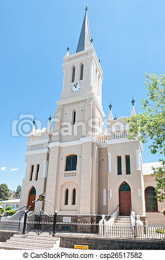 Dutch Reformed Church in Richmond, South Africa  - csp26517582