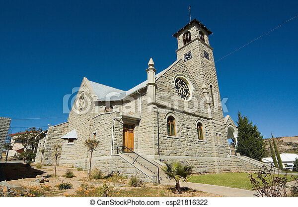 Dutch Reformed Church Namaqualand - csp21816322