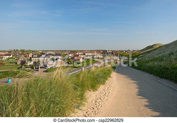 Dutch village Callantsoog - csp22962829
