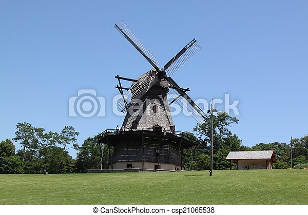 Dutch Windmill - csp21065538