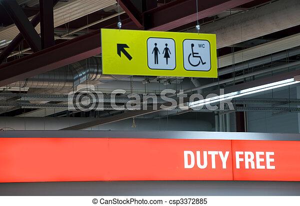 duty free shop - csp3372885