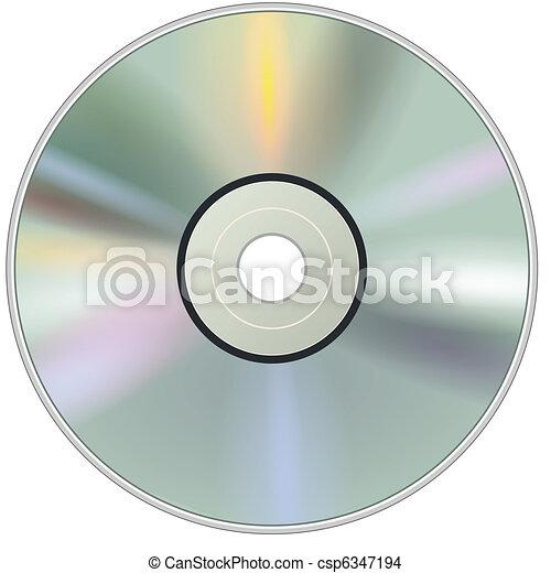 DVD CD disc - csp6347194