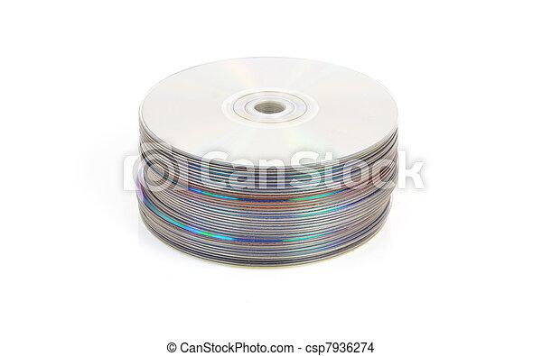 CD o DVD - csp7936274