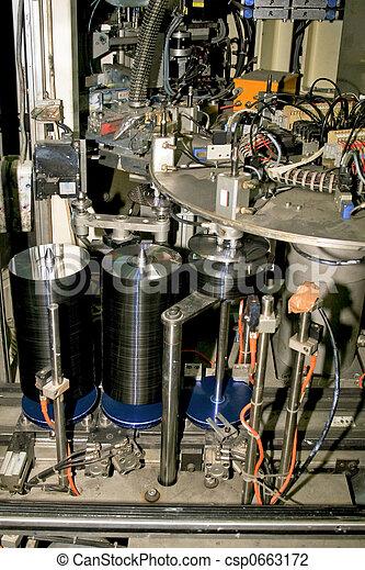 DVD Manufacture - csp0663172