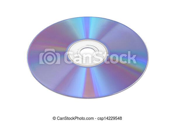 DVD o CD - csp14229548