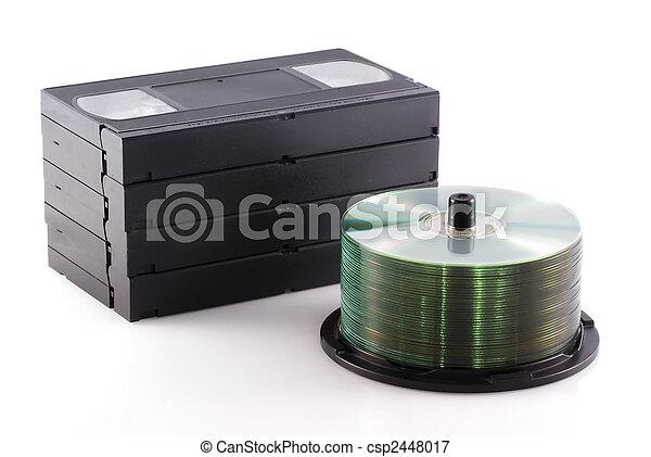 Dvd versus video. - csp2448017