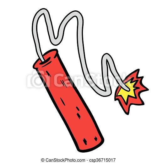 dynamite cartoon illustration isolated on white vector clip art rh canstockphoto com dynamite clipart black and white dynamite clipart images