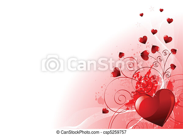 dzień, list miłosny, tło - csp5259757