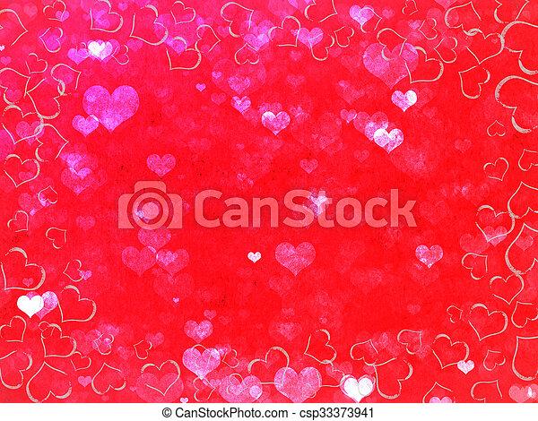 dzień, list miłosny, tło - csp33373941