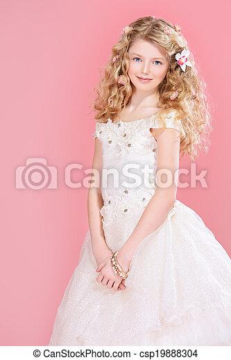dziewczyna, elegancja - csp19888304