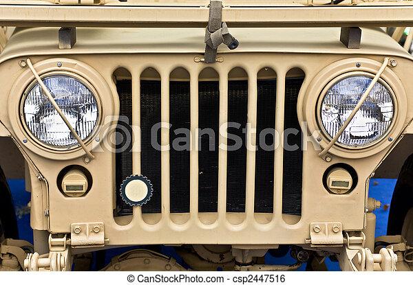 dzsip, collectible, ww2, öreg, jármű - csp2447516