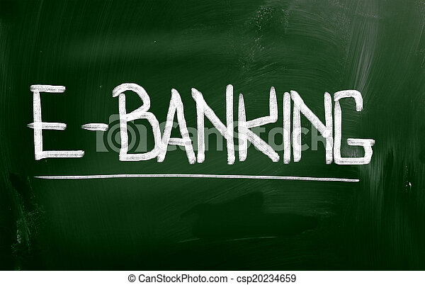 e-bankwesen, begriff - csp20234659