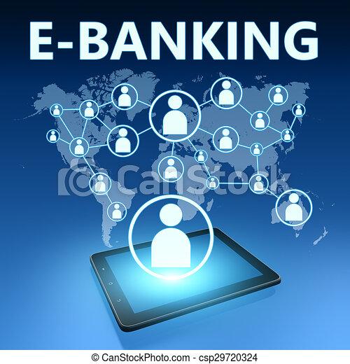 e-bankwesen - csp29720324