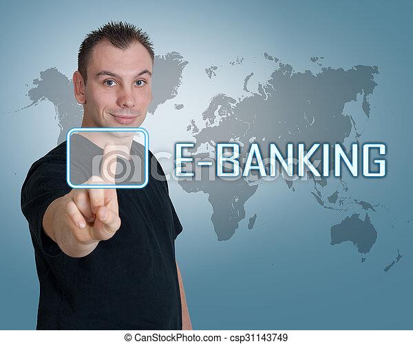 e-bankwesen - csp31143749