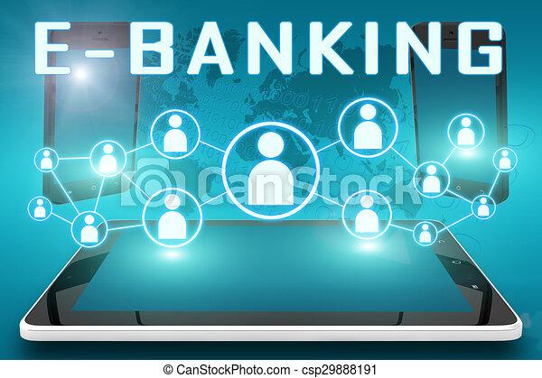 e-bankwesen - csp29888191
