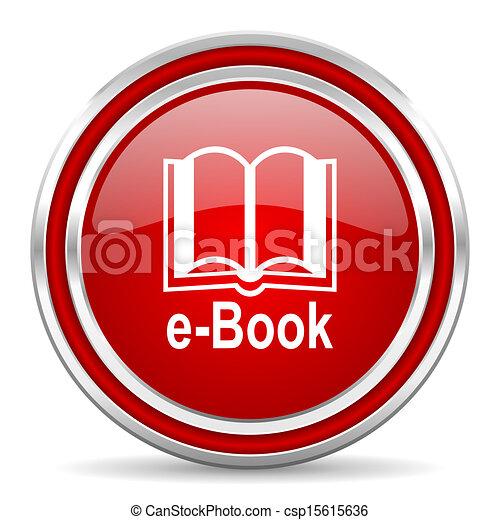 e-book icon - csp15615636