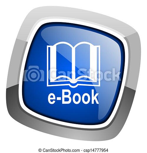e-book icon - csp14777954