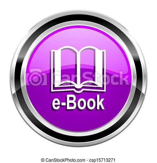 e-book icon - csp15713271
