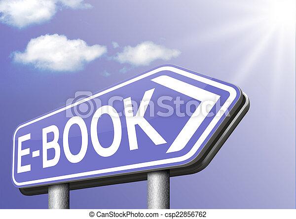 e-book - csp22856762