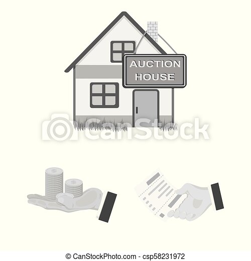 E-commerce and business monochrome icons in set collection for design. Buying and selling vector symbol stock web illustration. - csp58231972