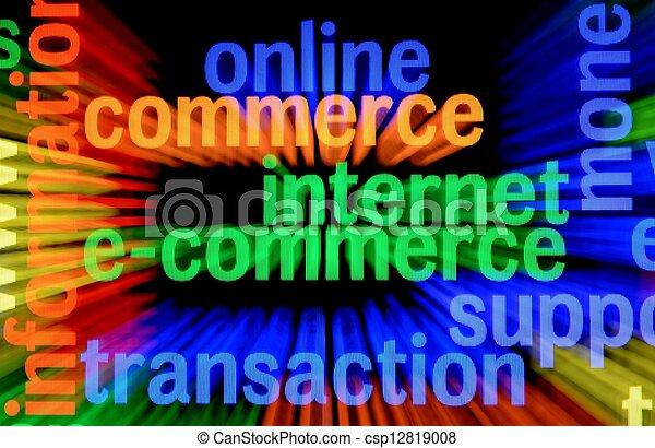 e-commerce - csp12819008