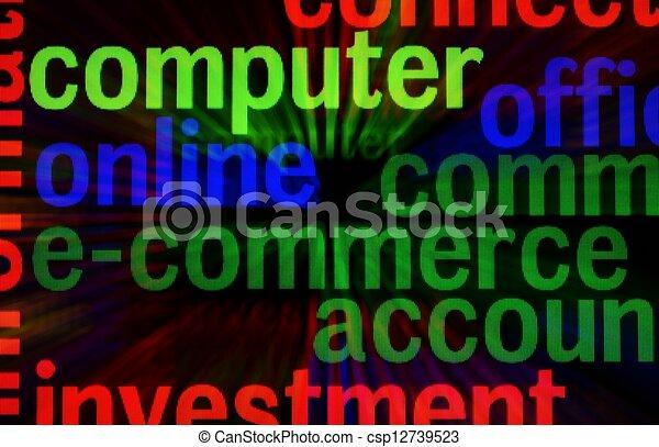 E-commerce - csp12739523