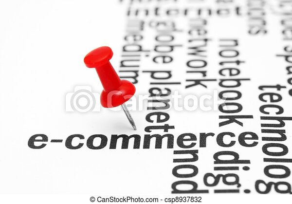 E- commerce - csp8937832
