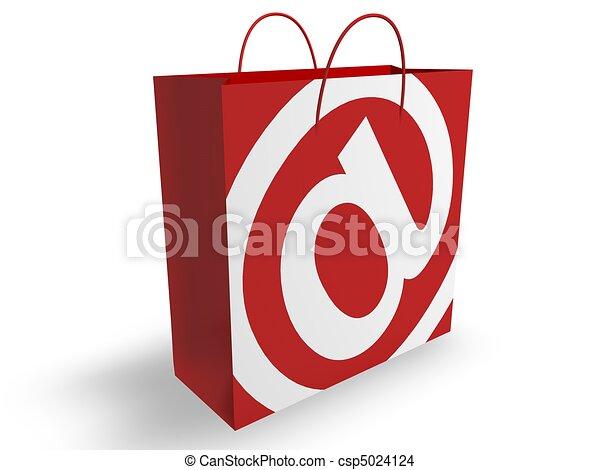 E-Commerce Concept  - csp5024124