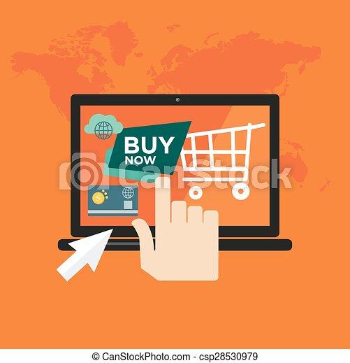 E-commerce - csp28530979