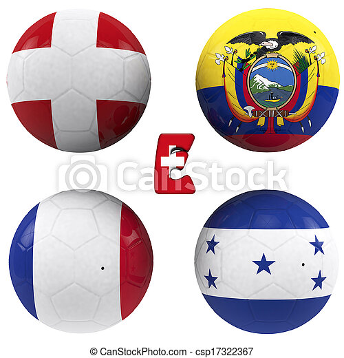 e group of the World Cup - csp17322367