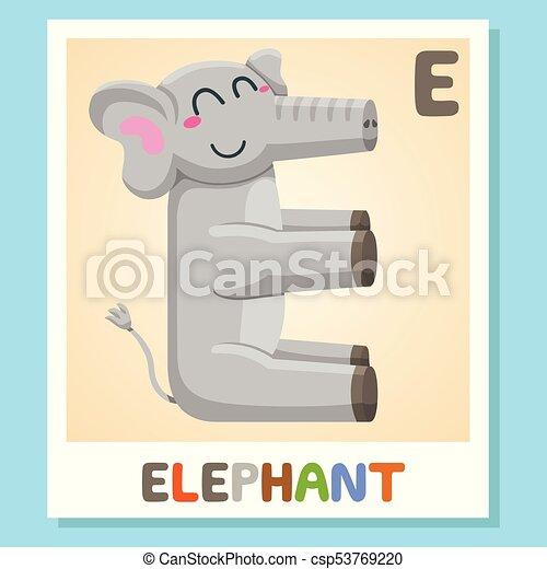 E is for elephant letter e elephant cute illustration animal e is for elephant letter e elephant cute illustration animal alphabet altavistaventures Images