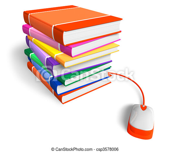 E-learning concept - csp3578006