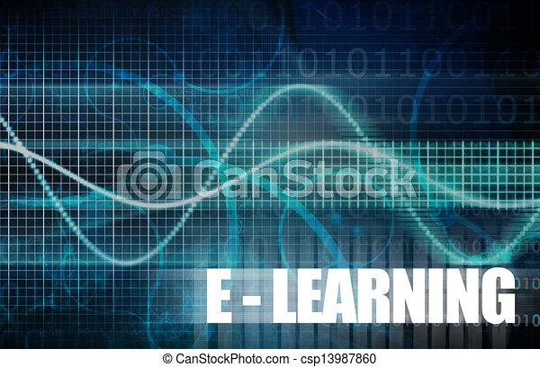 E-Learning - csp13987860