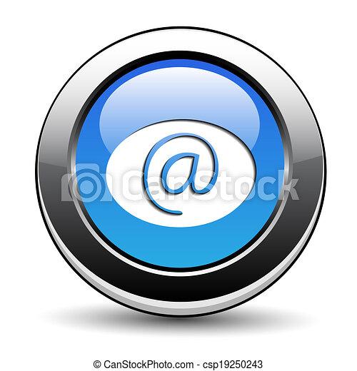 e-mail, botão - csp19250243