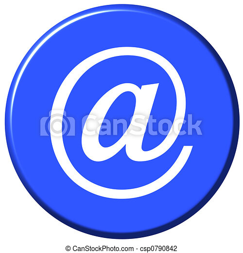E-mail Button - csp0790842