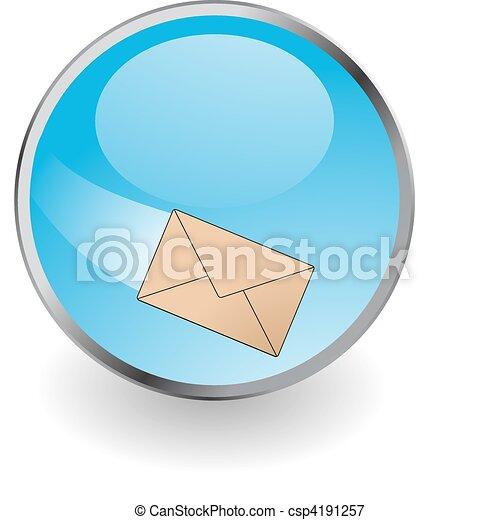 E-mail button - csp4191257