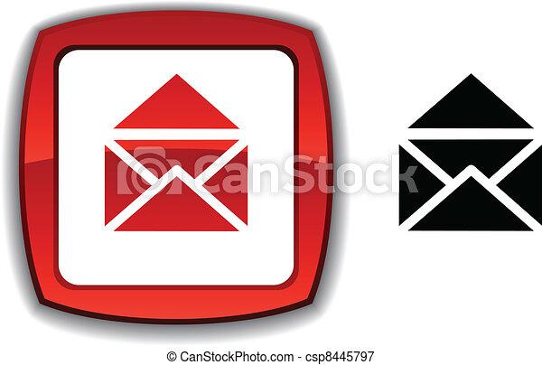 e-mail button. - csp8445797