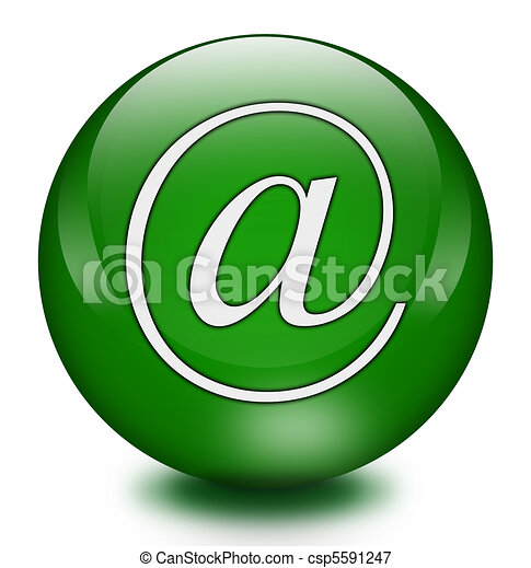 E mail button - csp5591247