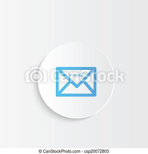 E-mail Button - csp20072803