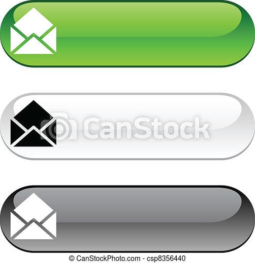 e-mail button. - csp8356440