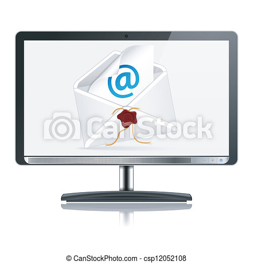 E-Mail Concept - csp12052108