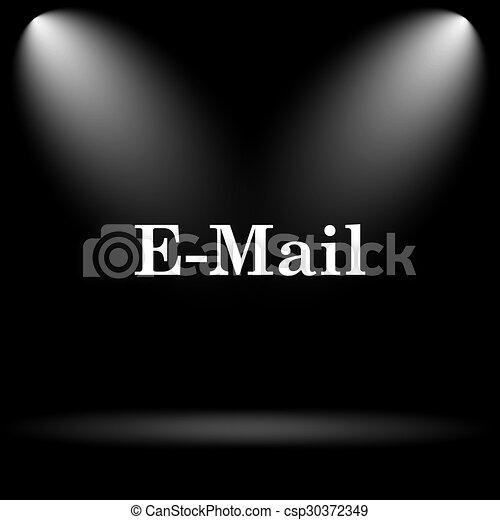 E-mail icon - csp30372349