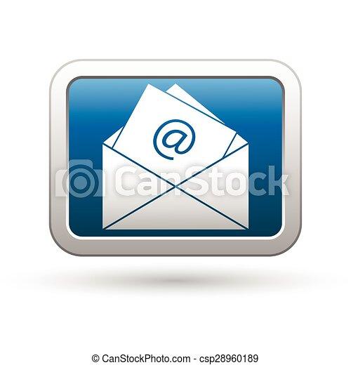 E mail icon - csp28960189