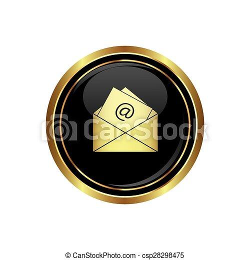 E mail icon - csp28298475