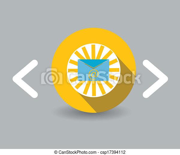 e-mail icon - csp17394112